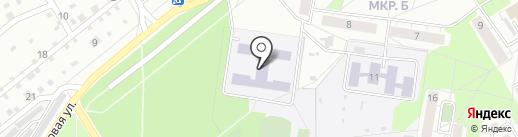 Средняя общеобразовательная школа №11 на карте Бердска