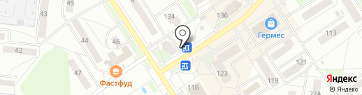 Киоск по продаже цветов на карте Бердска