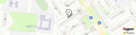 Банкомат, Сбербанк России на карте Бердска