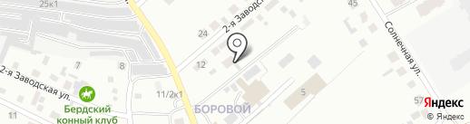 Стрелец на карте Бердска