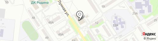 ТИТАН Фитнес на карте Бердска