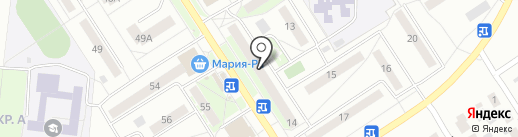 Шарм на карте Бердска