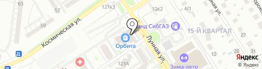 СИБИРСКИЙ БЕРКУТ на карте Бердска