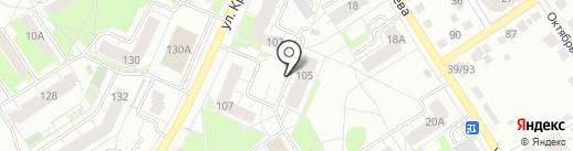 Сиблабсервис на карте Бердска
