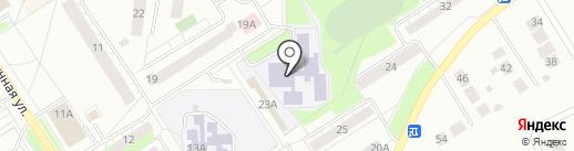 Средняя общеобразовательная школа №13 на карте Бердска