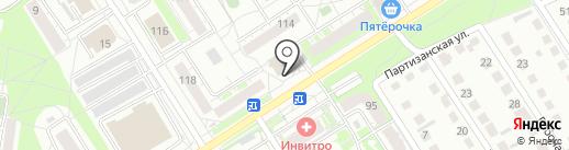 Магазин канцелярских товаров на карте Бердска