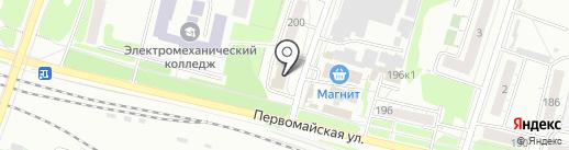 РЕБУС на карте Новосибирска