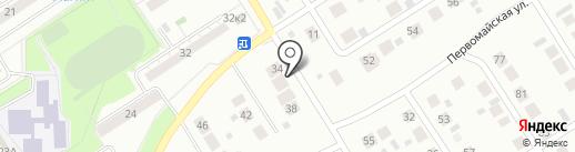Автомастерская на карте Бердска