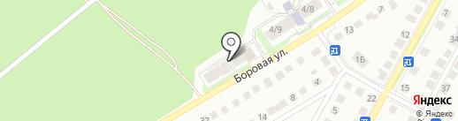Голубев В.А. на карте Бердска