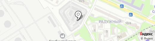 Установочно-сервисный центр на карте Бердска