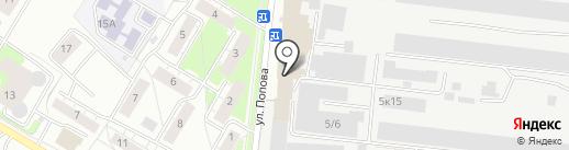 Застава на карте Бердска