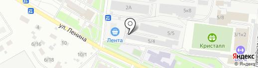 Neste Oil на карте Бердска