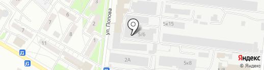Бердское специальное конструкторское бюро на карте Бердска