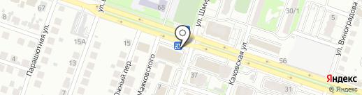 Магазин детской обуви на карте Новосибирска