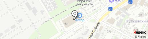 О-ЛЯ-ЛЯ на карте Бердска