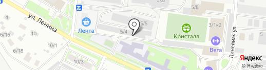 Драйв на карте Бердска