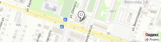 Наслаждение на карте Новосибирска