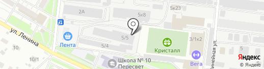Автомойка на карте Бердска