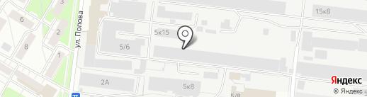 Руста на карте Бердска