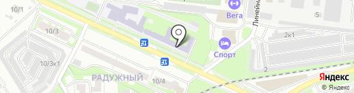 Пересвет на карте Бердска