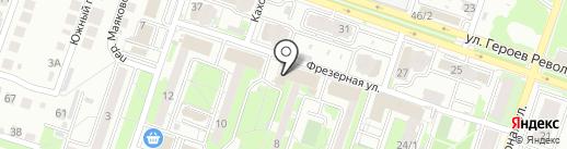 Магазин детской и подростковой одежды на карте Новосибирска