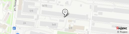 СК Пласт на карте Бердска