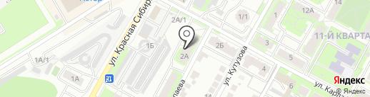 Д.РФ на карте Бердска