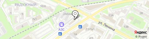 На переезде на карте Бердска