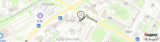Автозвук на карте Бердска