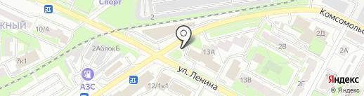 Алина на карте Бердска