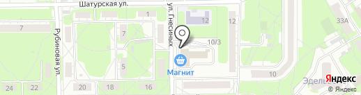 BENEFIT на карте Новосибирска
