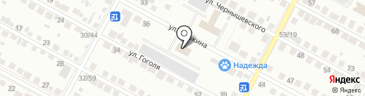 Административно-техническая инспекция на карте Бердска