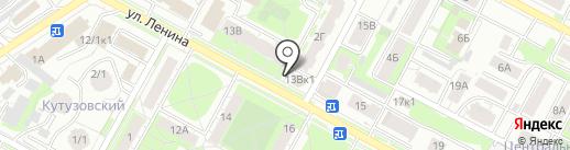 Traveler`s Coffee на карте Бердска
