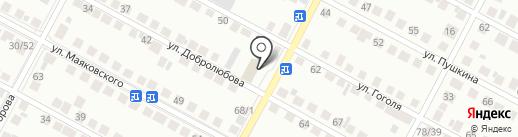 Отдел Военного комиссариата Новосибирской области по г. Бердск на карте Бердска