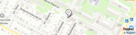РОСТО на карте Бердска