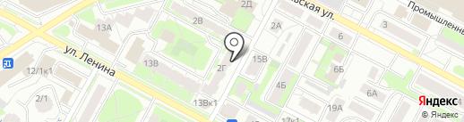 Транспортная компания на карте Бердска