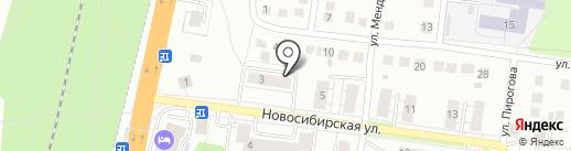Кокетка на карте Бердска