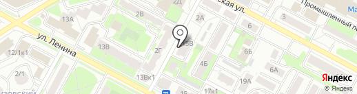 Прогресс на карте Бердска