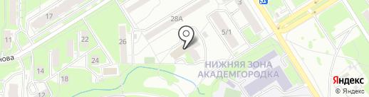 CLEAR на карте Новосибирска