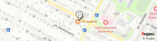 ОстровOК на карте Бердска