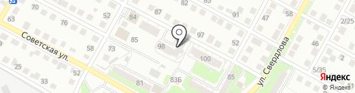 Аэлита на карте Бердска