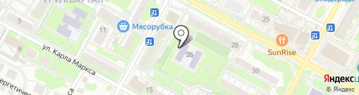 Детский сад №25, Рябинка на карте Бердска