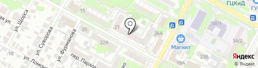 Чародейка на карте Бердска