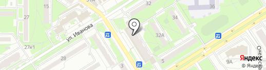 Лабиринт.ру на карте Новосибирска