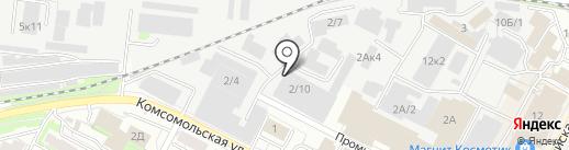 Мебельтранс на карте Бердска