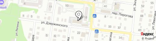 Бодряна на карте Бердска