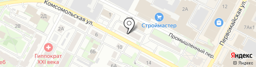 Смайл на карте Бердска