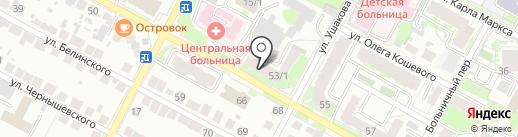 Банкомат, Банк Акцепт на карте Бердска