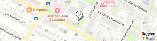 Россельхозбанк на карте Бердска