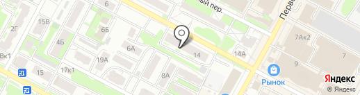 ПОЛИМЭКС на карте Бердска